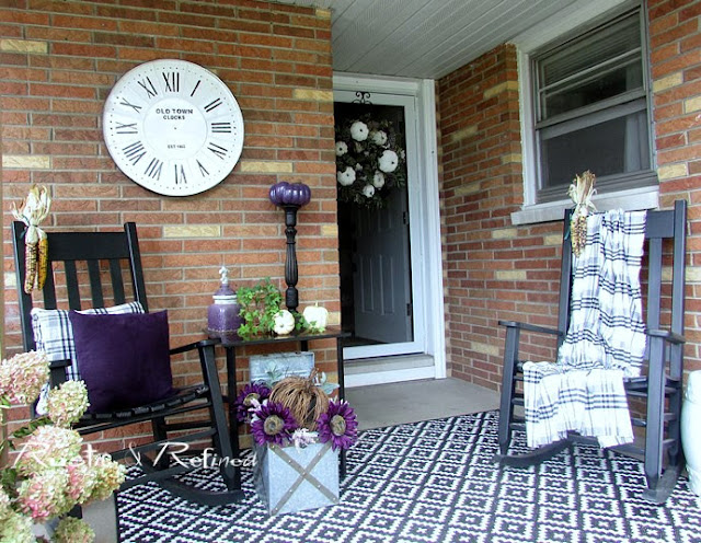 Fall Porch and Patio Decorating Ideas