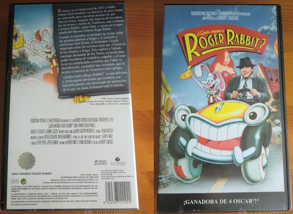 Tolle Falsches Spiel Mit Roger Rabbit Vhs Galerie ...