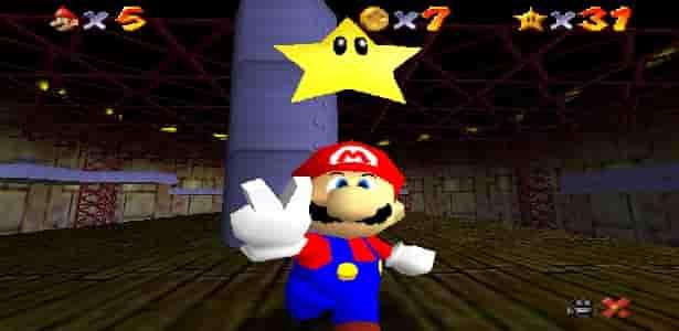 descarga el rom de Super Mario 64 en Español haciendo clic aqui