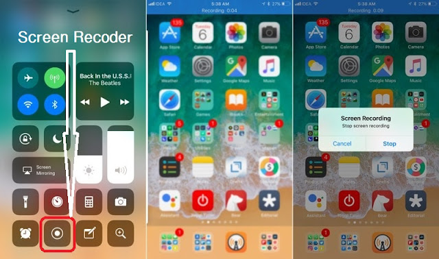 Screen Recoder on iOS 11 without Jailbreak