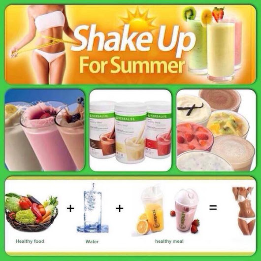 Shake UP for Summer!