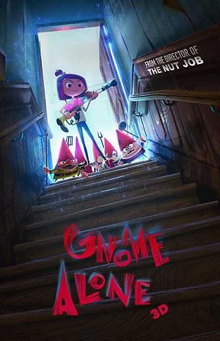 Gnome Alone 2017 English WEB-DL 250MB ESubs 480p