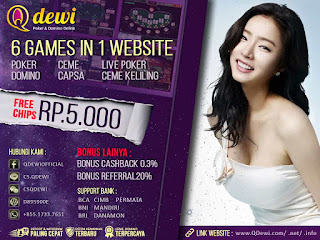 Agen Judi Poker Online Server IDN QDewi.net Terbaik Dan Terpercaya
