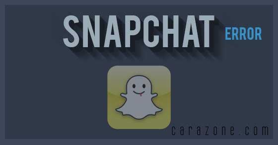 Cara Mengatasi Video error rusak pada Snapchat
