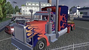 Optimus Prime Truck beta - Transformers Truck