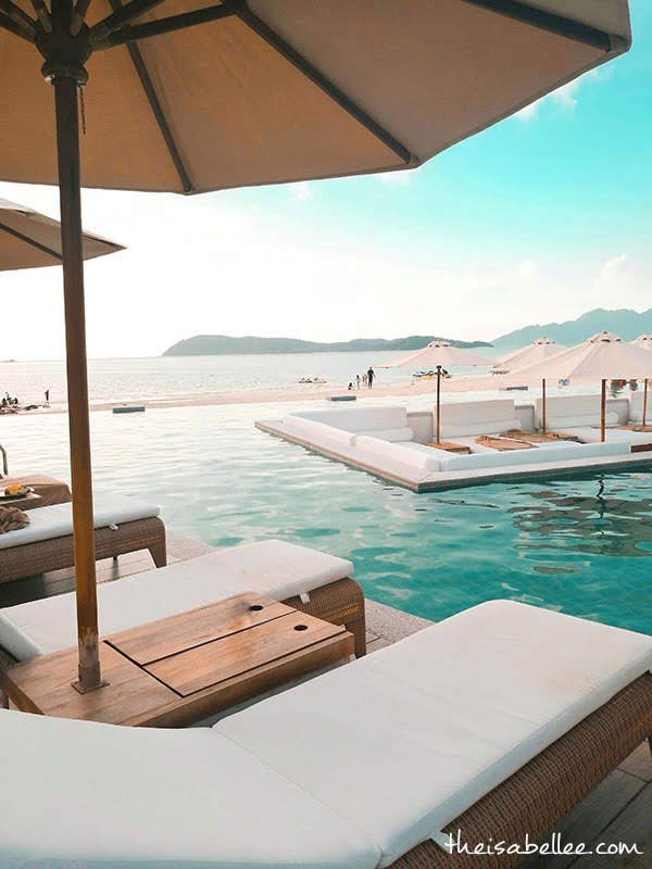 Dash Resort Langkawi Beach front infinity pool
