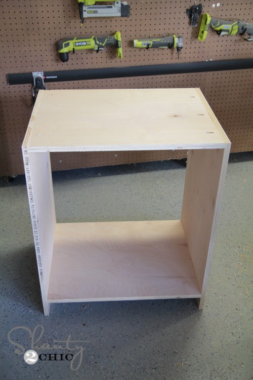 Click To Buy Box - DIY Desk Nightstand