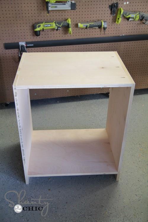 Click To Buy Box - DIY Desk Nightstand
