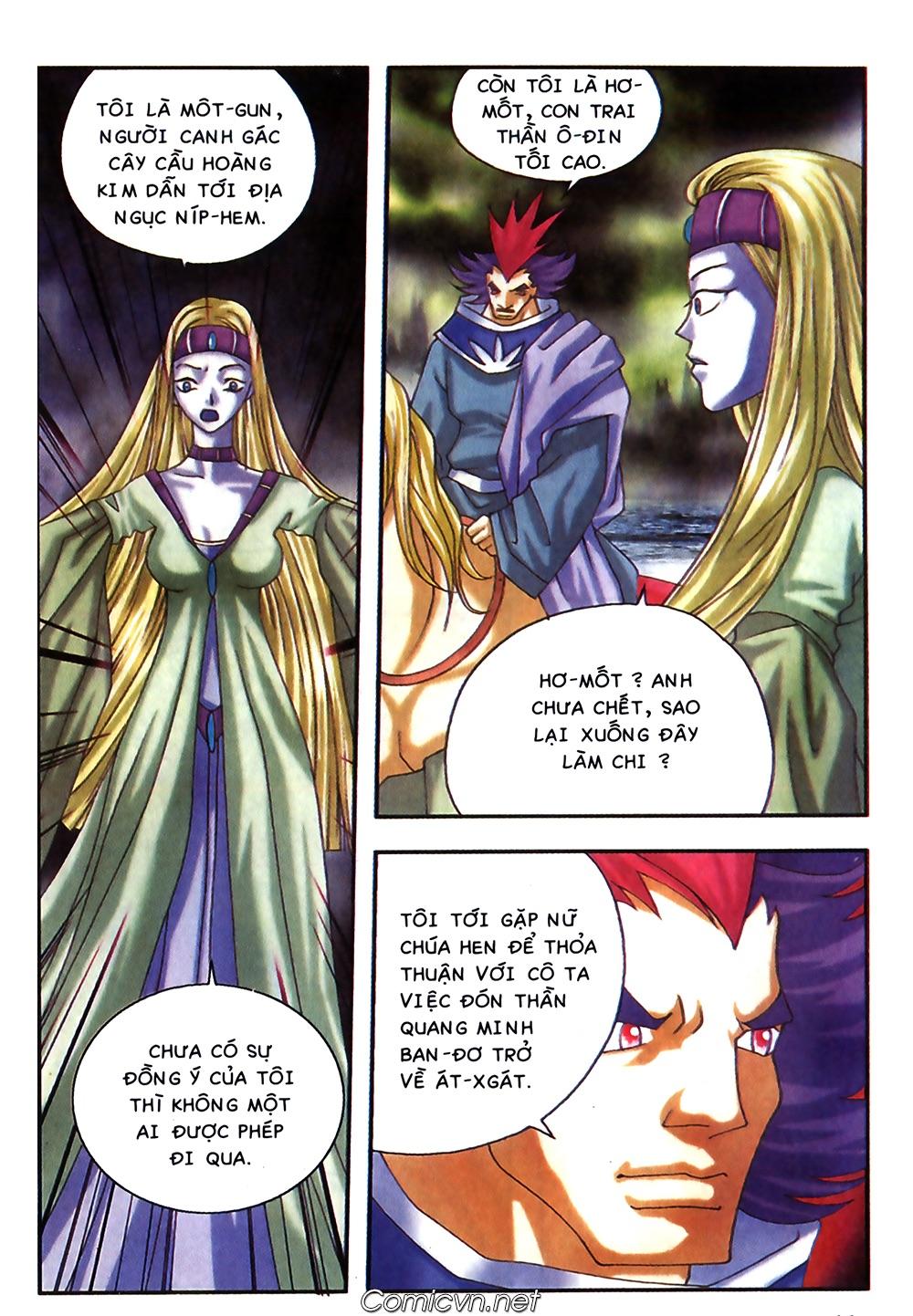 Thần thoại Bắc Âu - Chapter 46: Thần Dũng Cảm - Pic 12