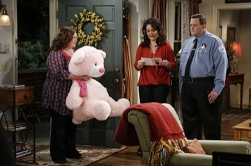 Lulu Shags played the giant pink bear on CBS's