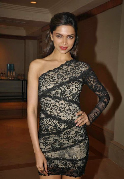Deepika Padukone-in-see-through-Black-Dress