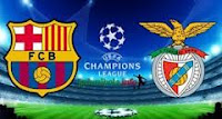 Hasil Video Barcelona VS Benfica 6-12-2012