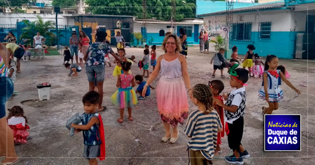 Escolas de Caxias em clima de carnaval 2