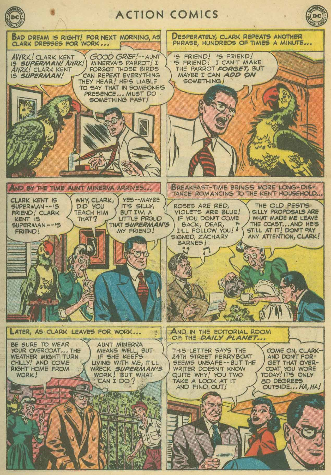 Action Comics (1938) 160 Page 6