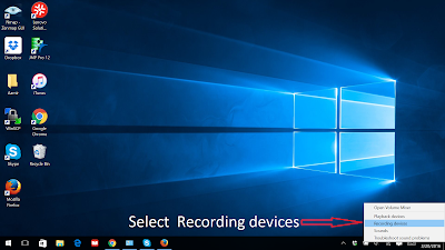 How to fix Microphone if it makes you sound like a Robot/Alien (Windows 10)-step 2