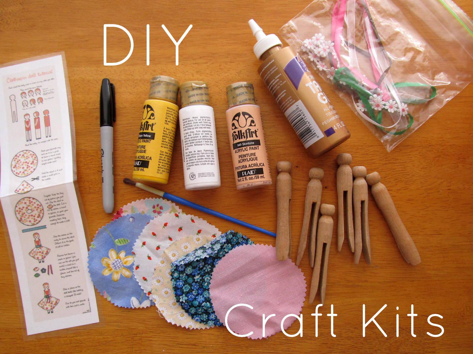 Pickup Some Creativity: DIY Craft Kits