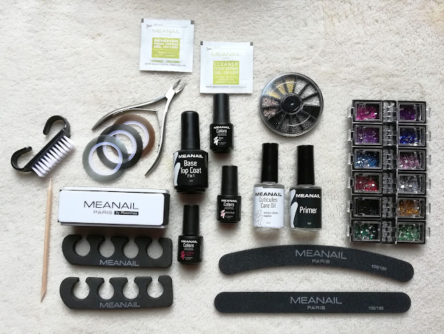 Kit deluxe manucure semi permanente Meanail Paris