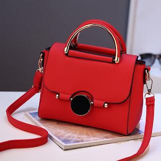 tas cantik murah warna merah