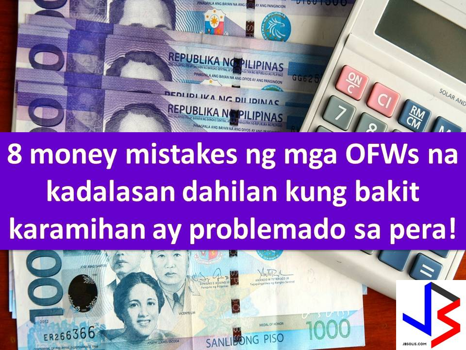 There are more than 2.4 million Overseas Filipino Workers (OFWs) in the whole world base on 2015 Survey on Overseas Filipinos according to Philippine Statistics Office.  But with this number, only small portion are financially stable and can return home anytime for good.  According to 2011 study conducted by Social Enterprise Development Partnership Inc., one out of 10 OFWs are financially broke. In addition, eight out of 10 of those who return to the Philippines have no savings.