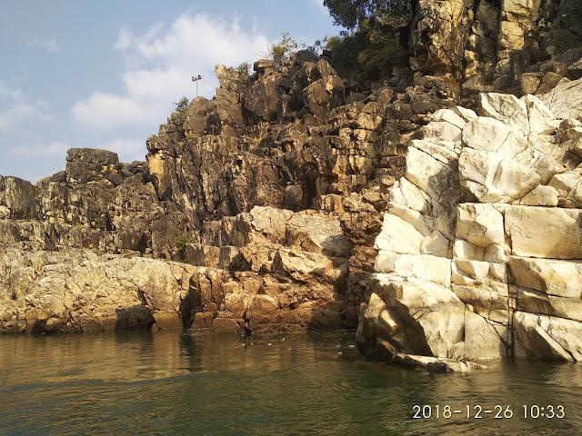 Shinning Marble Rocks