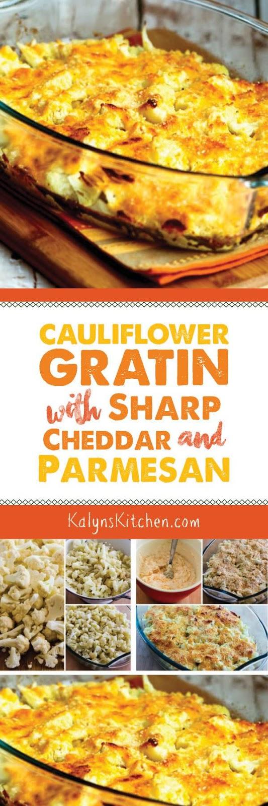 Cauliflower Gratin with Sharp Cheddar and Parmesan - Kalyn ...