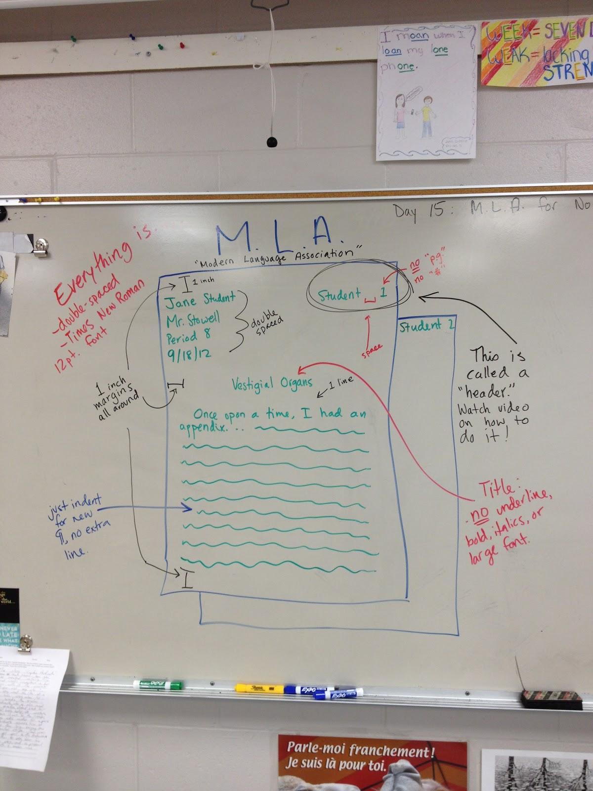 Tsunami English Class Mla Format Notes