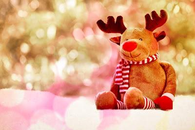 pupazzo renna Babbo Natale Rudolph