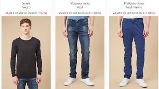 jersey pantalon vaquero y chino en oferta