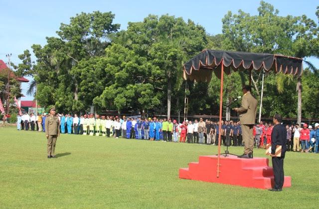 Olly Dondokambey Pimpin Apel Korpri dan Upacara Bulan K3 Nasional di Sulut
