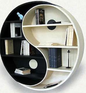 gambar rak buku minimalis