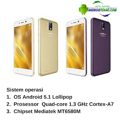 Smartphone Advan I5E