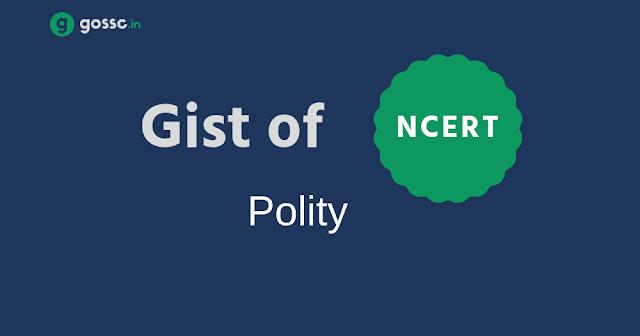 Download Gist of NCERT Polity