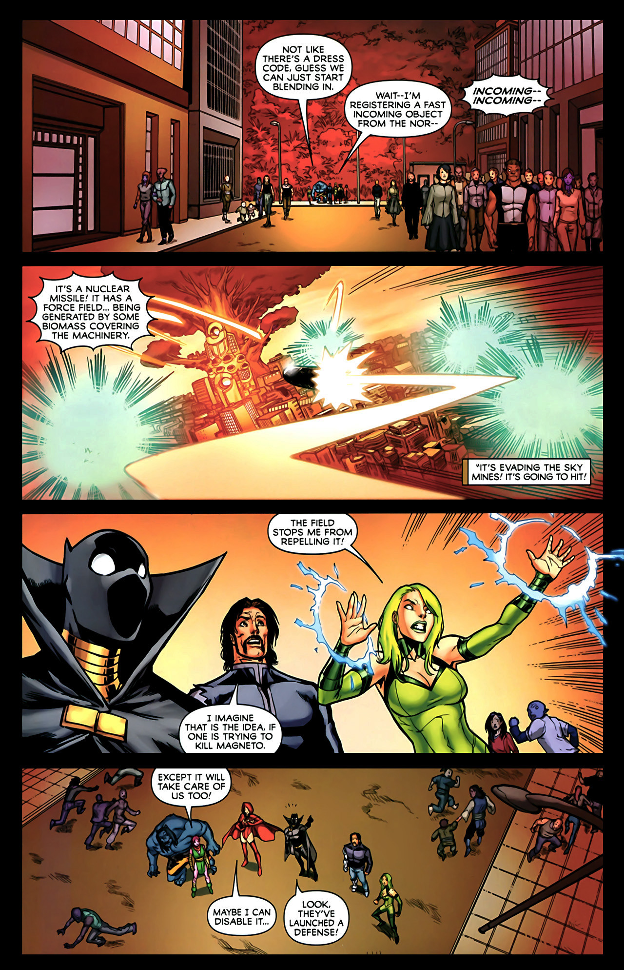 Read online Exiles (2009) comic -  Issue #2 - 5