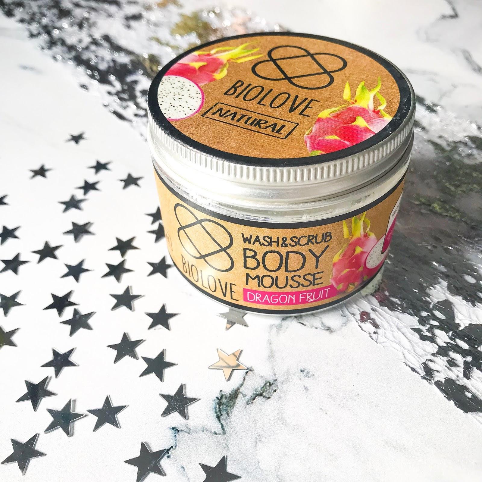Co warto kupić w Kontigo? Kosmetyki marki Biolove! naturalne kosmetyki, pianka peelingująco-myjąca biolove