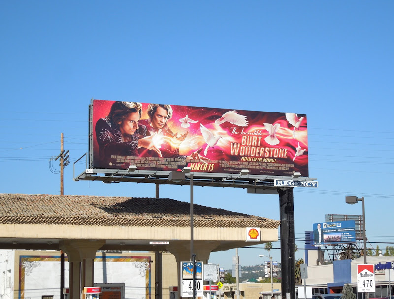 Burt Wonderstone doves billboard