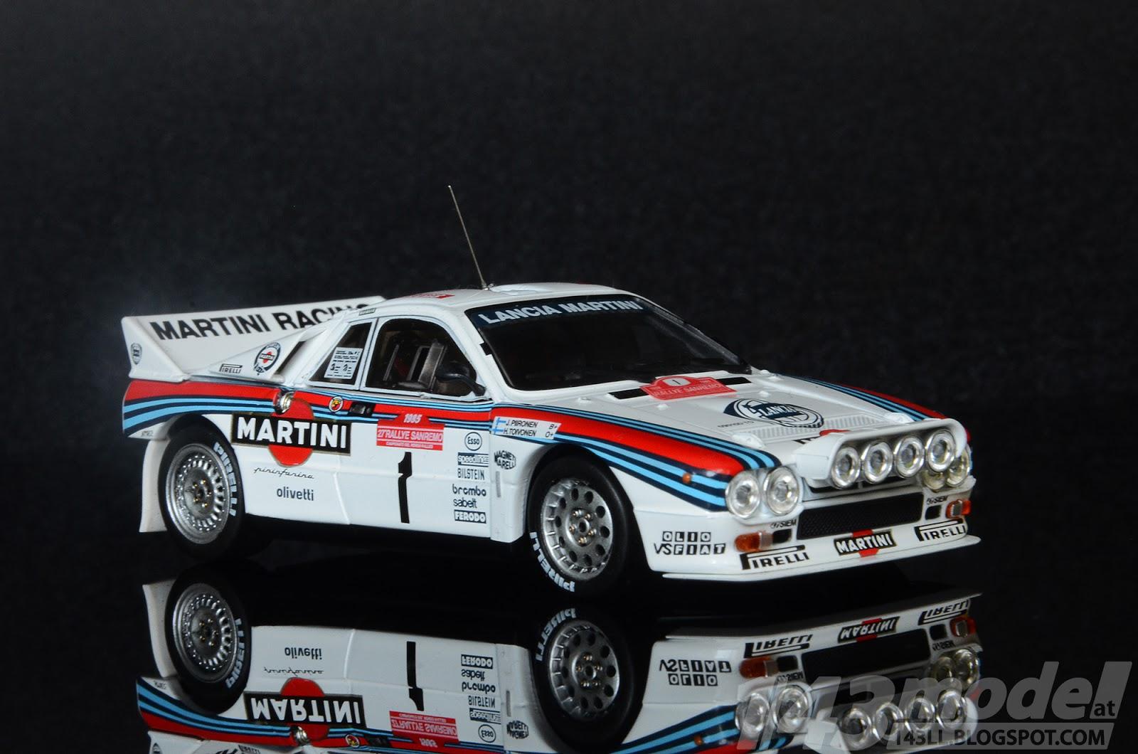 143modell: lancia martini 037, hpi racing 1/43