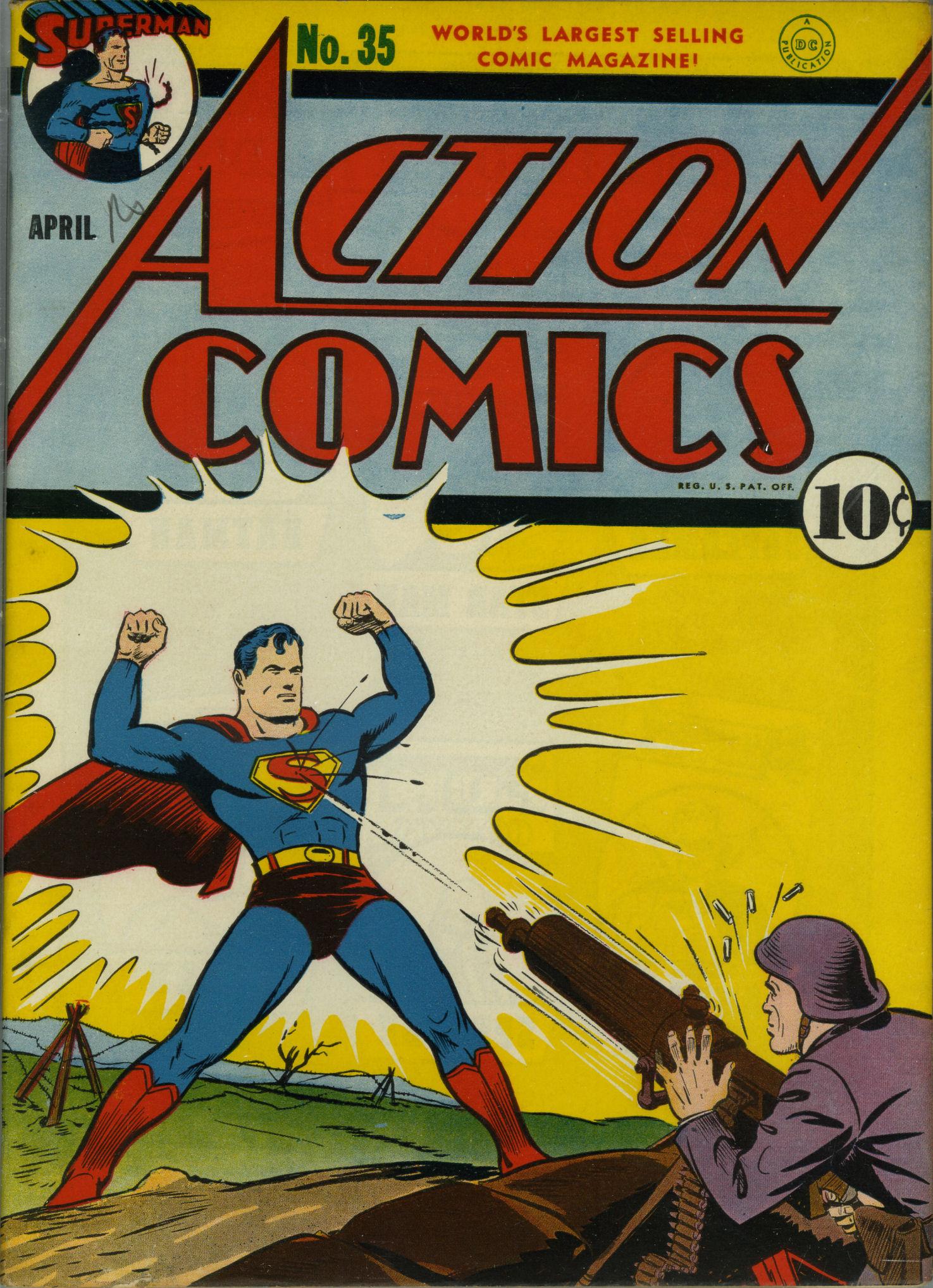 Action Comics (1938) 35 Page 1