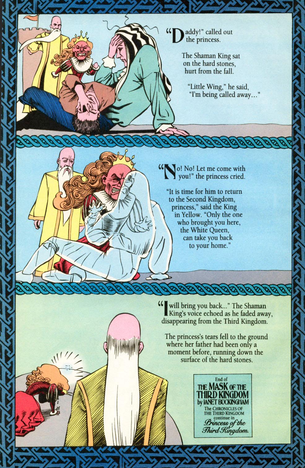 Read online Animal Man (1988) comic -  Issue #87 - 16