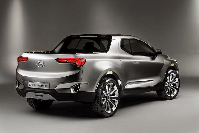 Hyundai Santa Cruz Concept Otometre Otomobil Blogu Haberler Yeni