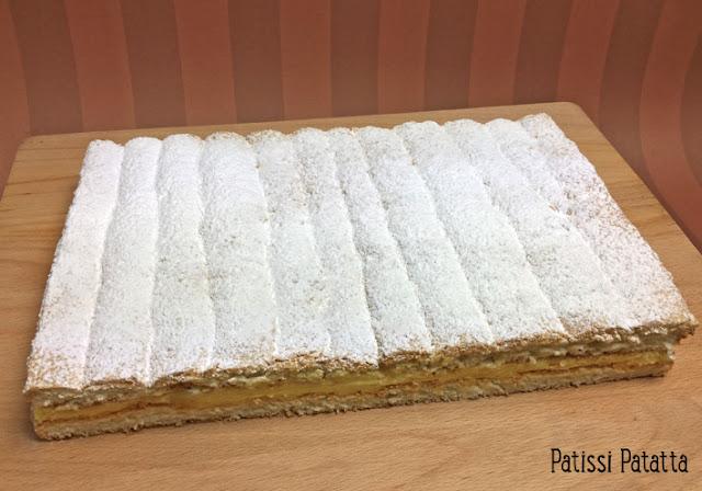 recette du scofa, gâteau scofa, gâteau des carmélites de Niort, dacquoise, crème au beurre au caramel, poudre de caramel, pâtisserie traditionnelle, patissi-patatta