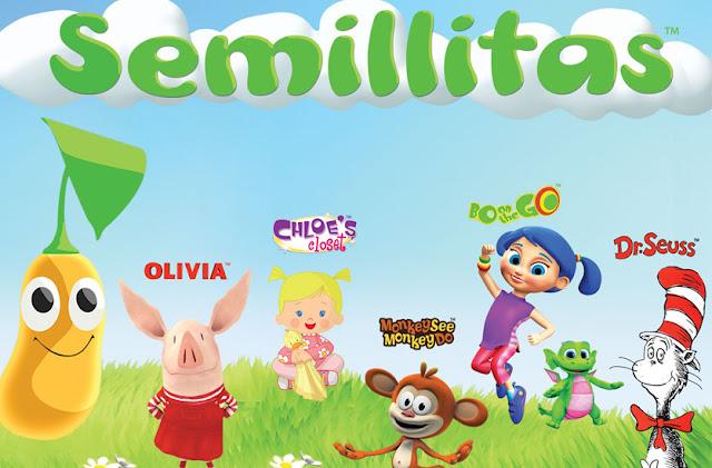 """""""Semillitas"""" El canal infantil crece en Centroamérica, ahora estará disponible a través de Claro en Guatemala, Honduras, Nicaragua, El Salvador, Costa Rica y Panamá"""