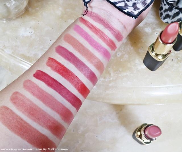 Swatch L'oreal New Color Riche Matte Lipstick