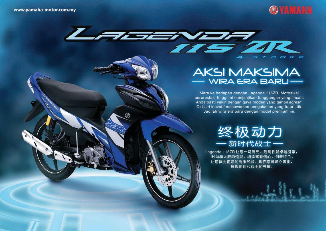 Koleksi 92 Gambar Motor Yamaha Lagenda 110 Terunik Klaras Motor