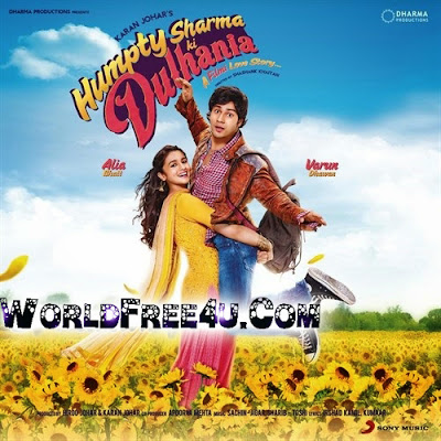 Poster Of Bollywood Movie Humpty Sharma Ki Dulhania (2014) 300MB Compressed Small Size Pc Movie Free Download worldfree4u.com