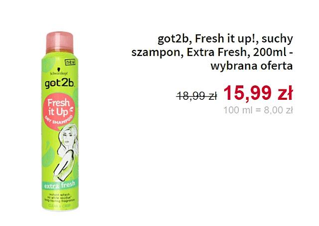 got2b, suchy szampon
