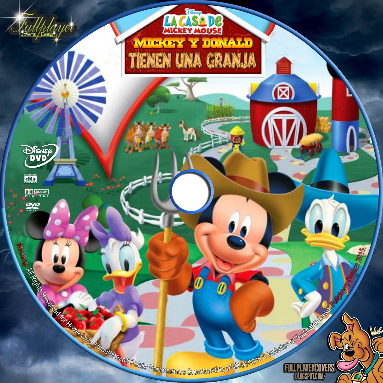 La Casa de Mickey Mouse - Mickey y Donald tienen una Granja | LABEL ...