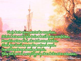 Cinta dan kasih Untuk Ayah, Puisi Terbaru Ayah, Puisi Cinta dan Kasih,
