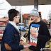 Dziennikarze portalu chojna24.pl wraz z piekarnią MAXX rozdawali pączki [video]