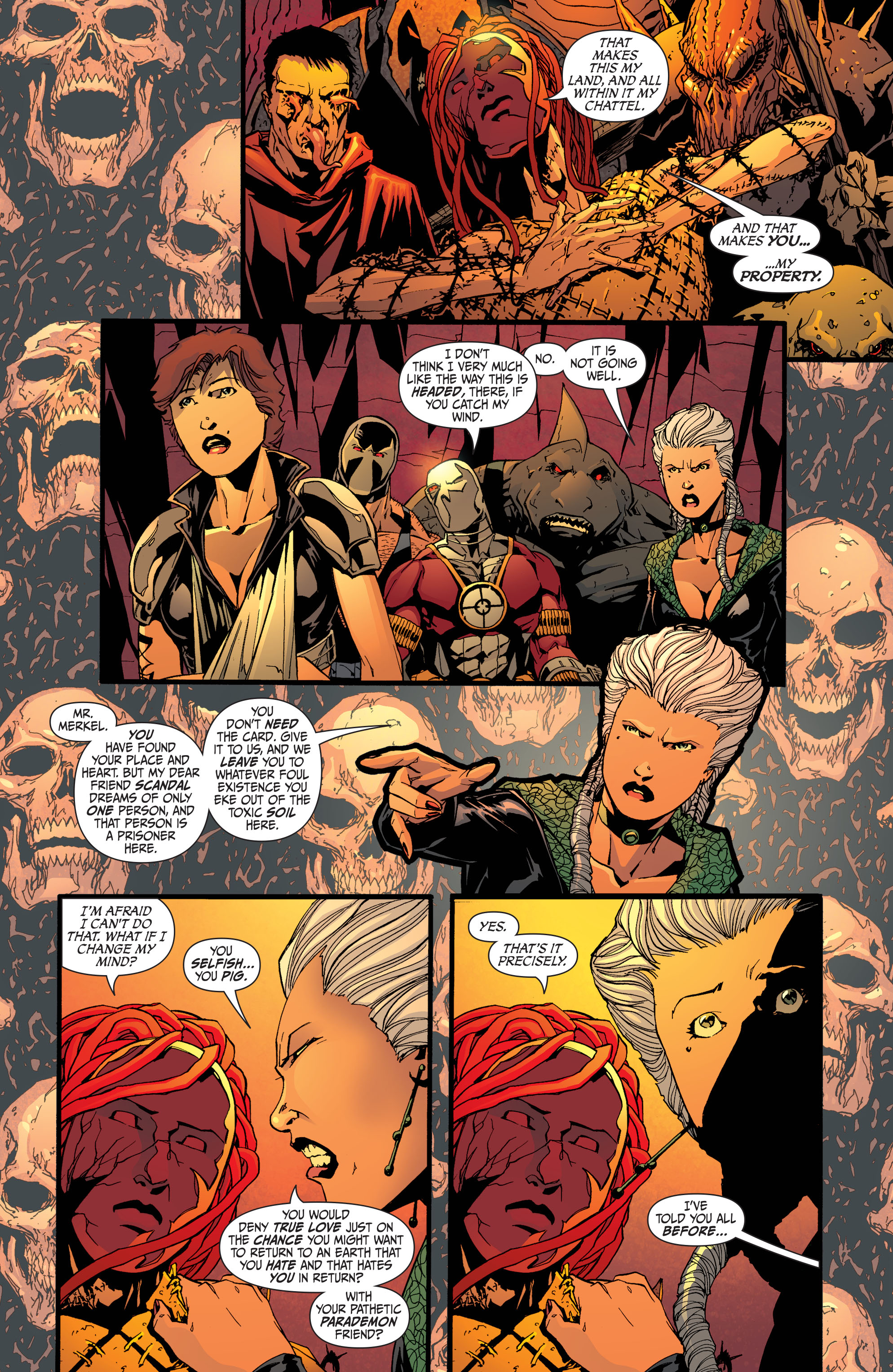 Read online Secret Six (2008) comic -  Issue #32 - 6