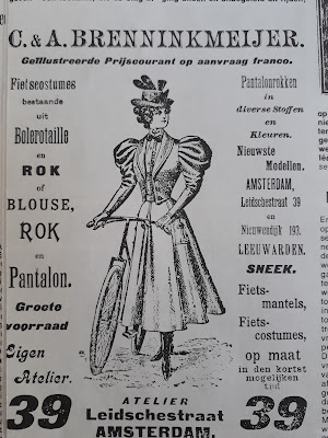 fietskostuum vrouw